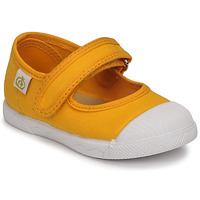Chaussures Fille Ballerines / babies Citrouille et Compagnie APSUT Jaune