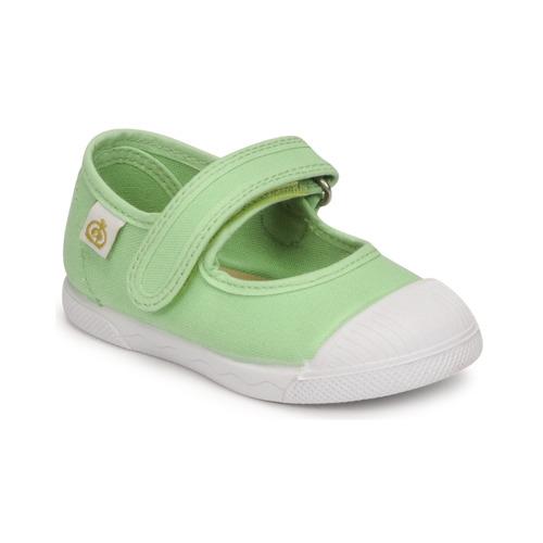 Chaussures Fille Ballerines / babies Citrouille et Compagnie APSUT Pistache