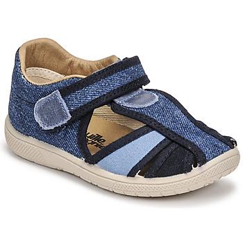 Chaussures Garçon Sandales et Nu-pieds Citrouille et Compagnie GUNCAL Bleu jeans