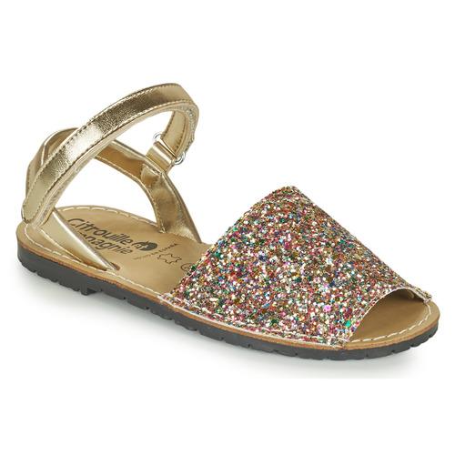 Chaussures Fille Sandales et Nu-pieds Citrouille et Compagnie SQUOUBEL Multicolor