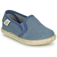 Chaussures Garçon Baskets basses Citrouille et Compagnie OSIOUP Bleu