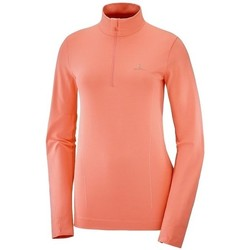 Vêtements Femme Sweats Salomon Comet Seamless Half Zip W Orange