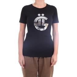 Vêtements Femme T-shirts manches courtes GaËlle Paris GBD7077 T-Shirt/Polo femme noir noir