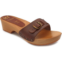 Chaussures Femme Mules My Clogs MY62 Marron