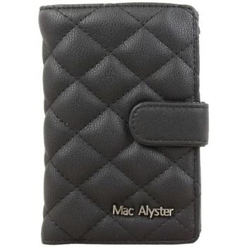 Sacs Femme Portefeuilles Mac Alyster Porte monnaie  Défile RFID Déco surpiquée Noir Multicolor