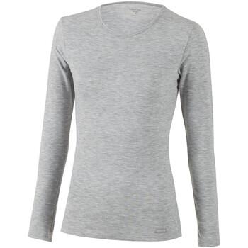 Sous-vêtements Femme Bodys Impetus Thermo Tricot de peau manches longues col rond Thermo gris Gris