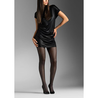 Sous-vêtements Femme Collants & bas Le Bourget Collant Satiné Voilance 15 Deniers NOIR