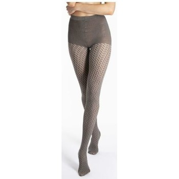 Sous-vêtements Femme Collants & bas Le Bourget Collant Betty GRIS