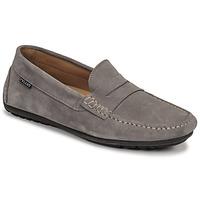 Chaussures Homme Mocassins Pellet CADOR Gris