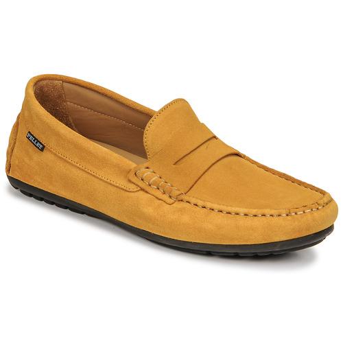 Chaussures Homme Mocassins Pellet CADOR Jaune