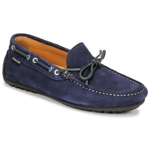 Chaussures Homme Mocassins Pellet NERE Bleu