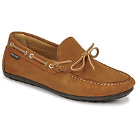 Chaussures Homme Mocassins Pellet NERE Marron