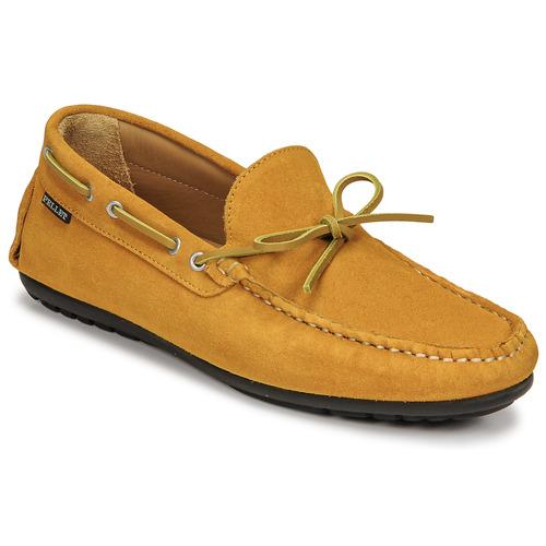Chaussures Homme Mocassins Pellet NERE Jaune