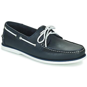 Chaussures Homme Chaussures bateau Pellet VENDEE Bleu