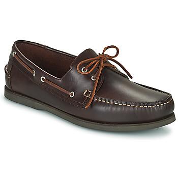 Chaussures Homme Chaussures bateau Pellet VENDEE Marron
