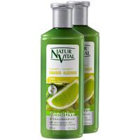 Beauté Shampooings Natur Vital Champú Sensitive Cabello Graso Coffret 2 X 300 Ml