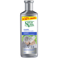 Beauté Shampooings Natur Vital Champú Silver Cabello Blanco Y Gris