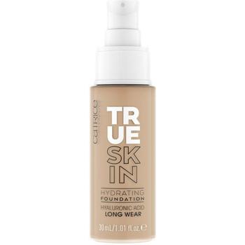 Beauté Femme Fonds de teint & Bases Catrice True Skin Hydrating Foundation 046-neutral Toffee