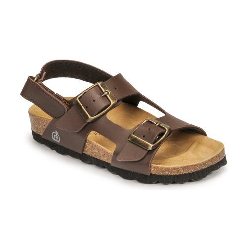 Chaussures Garçon Sandales et Nu-pieds Citrouille et Compagnie KELATU Brun