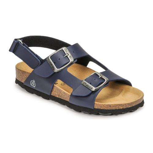 Chaussures Garçon Sandales et Nu-pieds Citrouille et Compagnie KELATU Marine foncé
