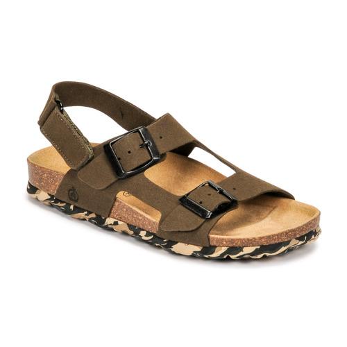 Chaussures Garçon Sandales et Nu-pieds Citrouille et Compagnie KELATU Kaki