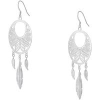Montres & Bijoux Femme Boucles d'oreilles Tipy Boucles d'oreilles  en Argent 925/1000 Blanc