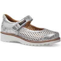 Chaussures Femme Ballerines / babies Calzamedi LETINAS  0690 ARGENT