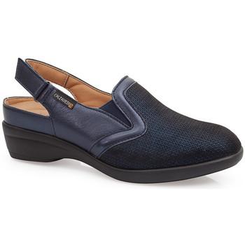 Chaussures Femme Sabots Calzamedi SANDALES  JUANETES ELASTICA BLEU