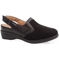 Chaussures Femme Sabots Calzamedi SANDALES  JUANETES ELASTICA NOIR
