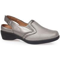 Chaussures Femme Sabots Calzamedi SANDALES  JUANETES ELASTICA ARGENT