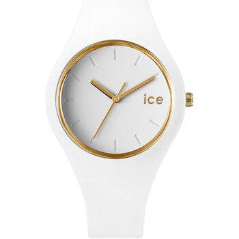 Montres & Bijoux Femme Montres Analogiques Ice Watch Montre Femme  en Silicone Blanc Blanc