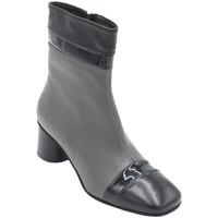 Chaussures Femme Bottines Angela Calzature AANGC4915bic nero