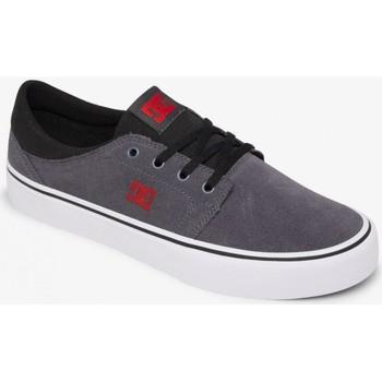Chaussures Homme Chaussures de Skate DC Shoes TRASE black multi Gris