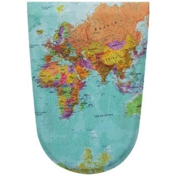 Accessoires Accessoires chaussures Funstonze Carte du monde a clipser en bleu  FNZMAPAD Bleu