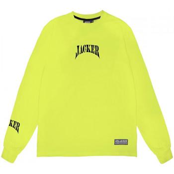 Vêtements Homme T-shirts manches longues Jacker Corpo Vert