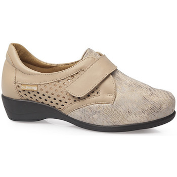 Chaussures Femme Derbies & Richelieu Calzamedi CHAUSSETTES ÉLASTIQUES CHAUSSURES 0685 BEIGE