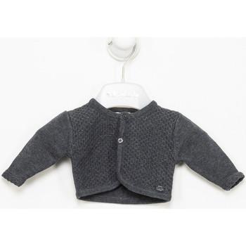 Vêtements Fille Gilets / Cardigans Tutto Piccolo Veste longue Gris