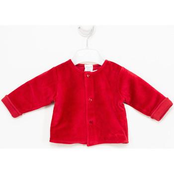 Vêtements Fille Gilets / Cardigans Tutto Piccolo Veste longue Rouge