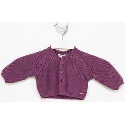 Vêtements Fille Gilets / Cardigans Tutto Piccolo Veste longue Violet