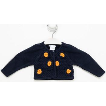 Vêtements Fille Gilets / Cardigans Tutto Piccolo Veste longue Multicolore