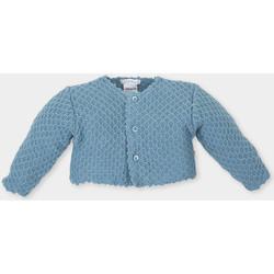Vêtements Enfant Gilets / Cardigans Tutto Piccolo Veste longue Bleu
