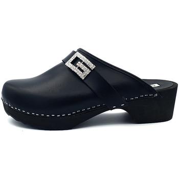 Chaussures Femme Sabots Gioie Italiane G6405 Noir
