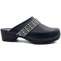 Chaussures Femme Sabots Gioie Italiane G6407 Noir