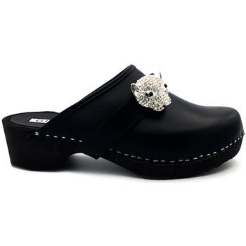Chaussures Femme Sabots Gioie Italiane G6423 Noir