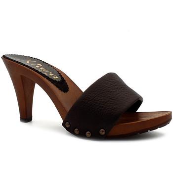Chaussures Femme Mules Kiara Shoes K6308 Marron