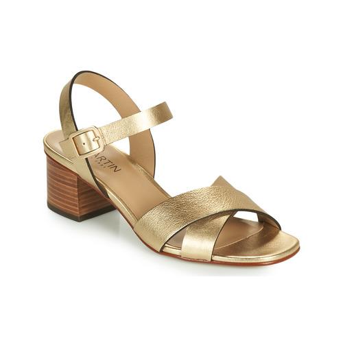 Chaussures Femme Sandales et Nu-pieds JB Martin OXIA Doré
