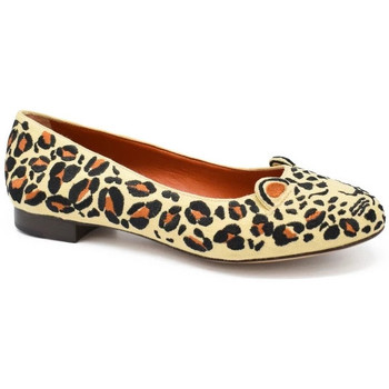 Chaussures Femme Ballerines / babies Charlotte Olympia Ballerines Capri Cats Beige