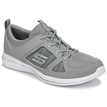 Chaussures Femme Fitness / Training Skechers CITY PRO - WITHOUT A CARE Gris