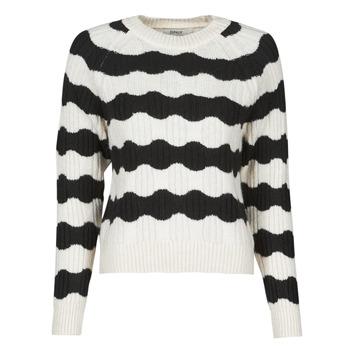 Vêtements Femme Pulls Only ONLKAITLIN Noir / Blanc
