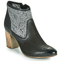 Chaussures Femme Bottines JB Martin DENTEL Noir